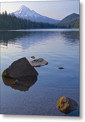 Metal Print featuring the photograph Lost Lake Morning 81014 by Todd Kreuter