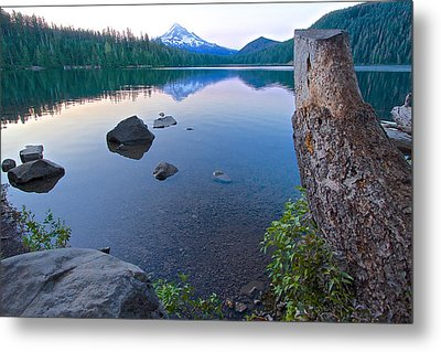 Metal Print featuring the photograph Lost Lake Morning 81014b by Todd Kreuter