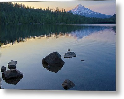 Metal Print featuring the photograph Lost Lake Morning 81014c by Todd Kreuter