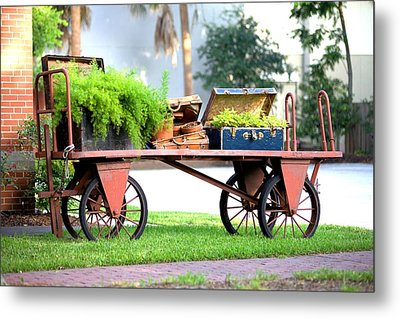 Metal Print featuring the photograph Lost Luggage by Gordon Elwell