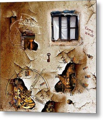 Lost Memories Behind My Longing Window Metal Print by Franziskus Pfleghart