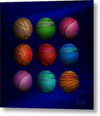 Lost My Marbles Metal Print by Mary Machare