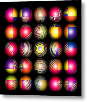 Lost My Marbles Metal Print by Wendy J St Christopher