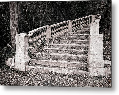 Lost Staircase Metal Print by Olivier Le Queinec