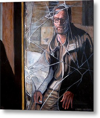 Metal Print featuring the painting Lost by Tom Roderick