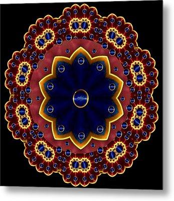 Lotus Bloom Metal Print by Pepita Selles