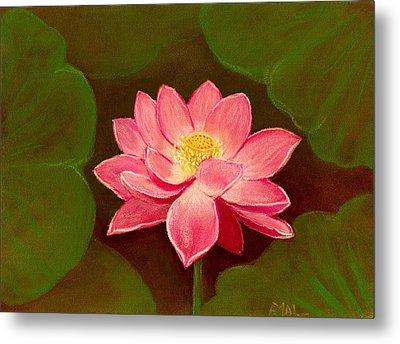 Lotus Flower Metal Print by Anastasiya Malakhova