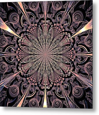 Lotus Gates Metal Print by Anastasiya Malakhova