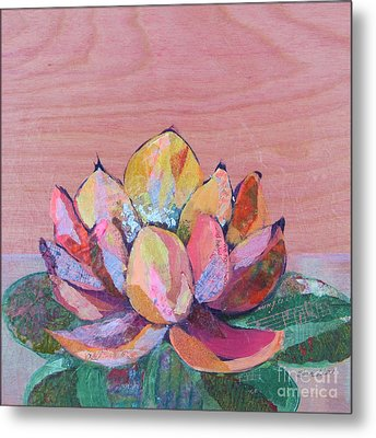 Lotus I Metal Print by Shadia Derbyshire