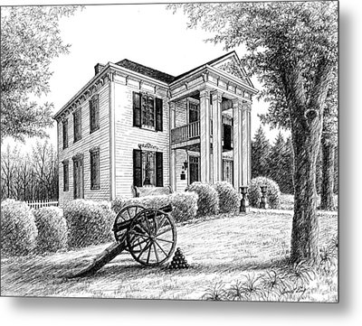 Lotz House Metal Print by Janet King