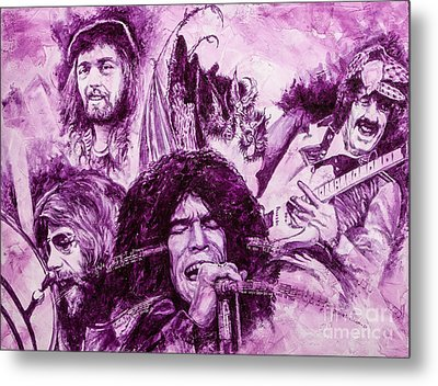Loud'n'proud Metal Print by Igor Postash