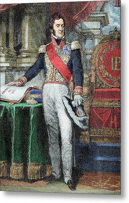 Louis-philippe I (paris Metal Print by Prisma Archivo
