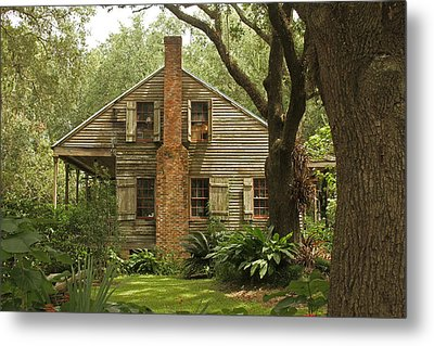 Louisiana Cajun Home Metal Print