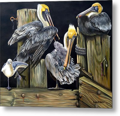 Louisiane Berceuse Metal Print by Phyllis Beiser