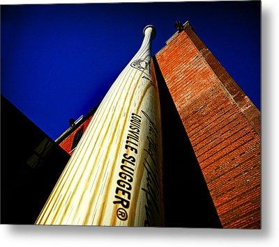 Louisville Slugger Bat Factory Museum Metal Print by Bill Swartwout