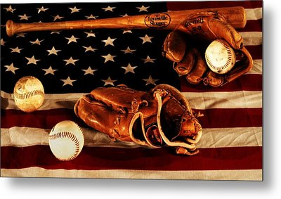 Louisville Slugger Metal Print by Dan Sproul