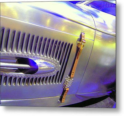 Metal Print featuring the photograph Louvered And Buckled In Las Vegas by Don Struke