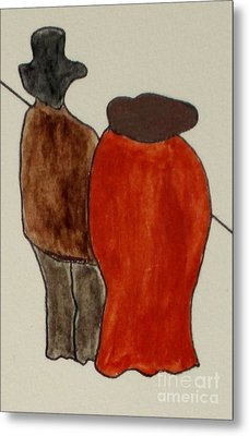 Love And Marriage Metal Print by Bill OConnor