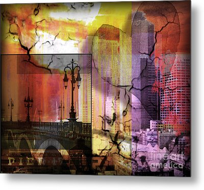 Love And Mystery  Metal Print by Christine Mayfield
