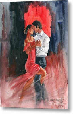 Love And Tango Metal Print