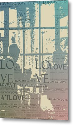 Love At Longwood Metal Print by Trish Tritz