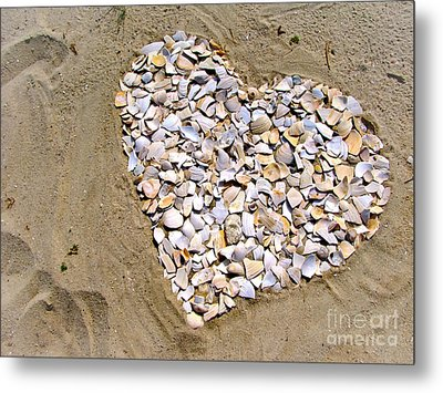 Love At The Jersey Shore Metal Print