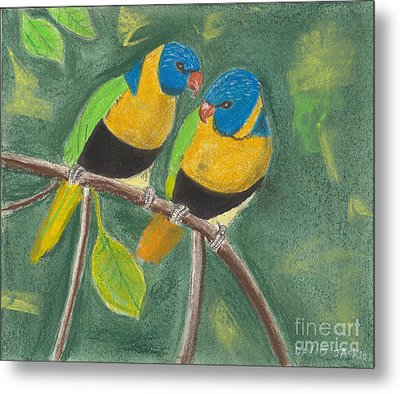 Love Birds Metal Print by David Jackson