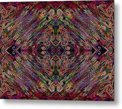 Love Centered In The Reach Metal Print by Kenneth James