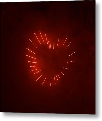Metal Print featuring the photograph Love Explosion by Linda Mishler