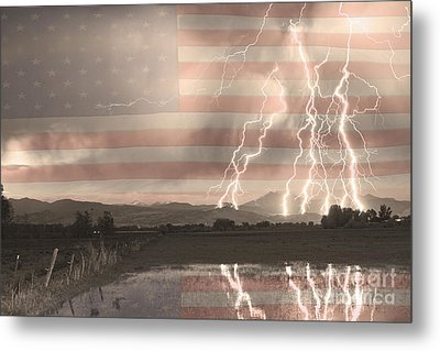 Love For Country Metal Print by James BO  Insogna