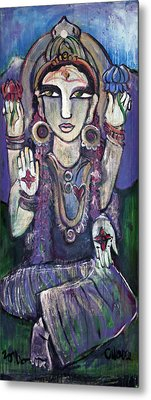 Love For Parvati Metal Print by Laurie Maves ART