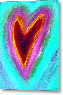 Love From The Heart Metal Print