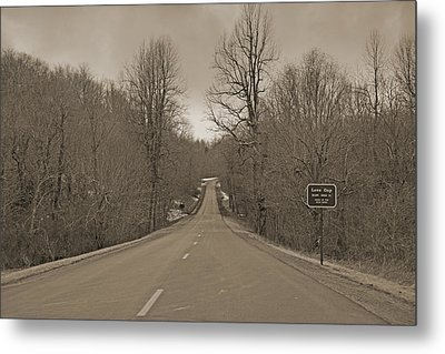 Love Gap Blue Ridge Parkway Metal Print by Betsy Knapp