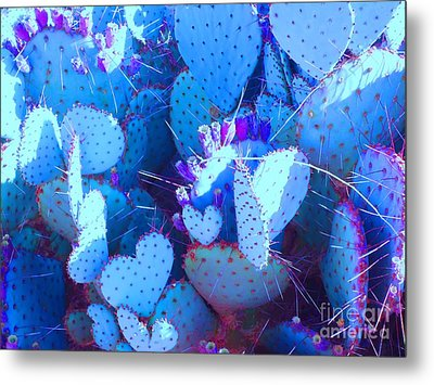 Love In The Desert Metal Print by Ann Johndro-Collins
