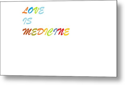 Metal Print featuring the digital art Love Is? by Aaron Martens
