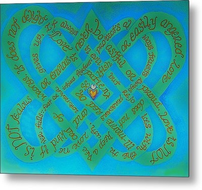 Love Is Blue Metal Print by Hidden  Mountain