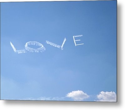 Metal Print featuring the photograph Love Is In The Air by Jodi Terracina