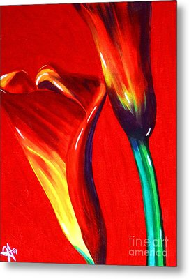 Love Lilies Metal Print by Jackie Carpenter