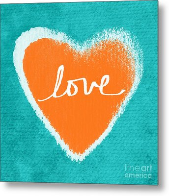 Love Metal Print by Linda Woods