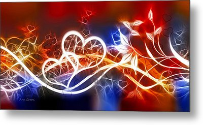 Love Lines Metal Print by Ann Croon