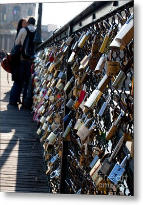 Love Locks Metal Print by John Daly