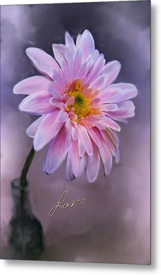 Love Metal Print by Mary Timman