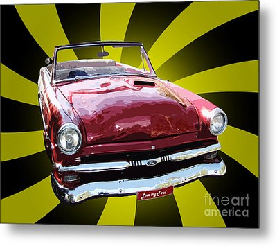 Love My Ford Metal Print