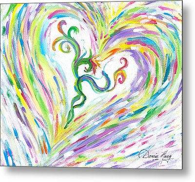 Love Of Parents Love Of Child Metal Print by Denise Hoag