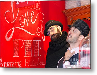 Love Of Pie Metal Print by Andrea Simon