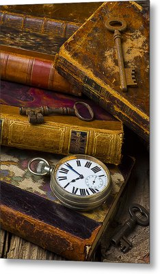 Love Old Books Metal Print