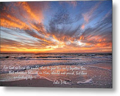 Love Personified Metal Print by HH Photography of Florida