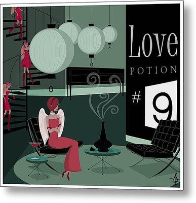 Love Potion No9 Metal Print by Kate Paulos