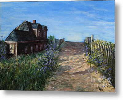Love The Old Cottage Metal Print by Rita Brown