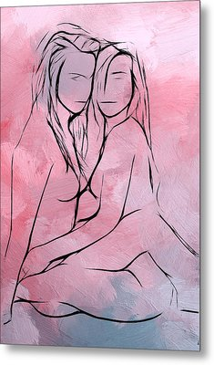 Love Without Frontiers Metal Print by Steve K